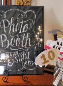 fixer upper party | polka dots and picket fences