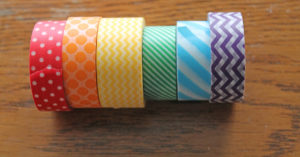 washi | polka dots and picket fences