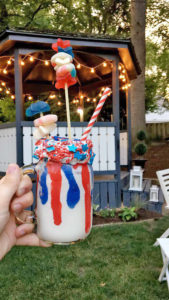 all american milkshakes | polka dots and picket fences