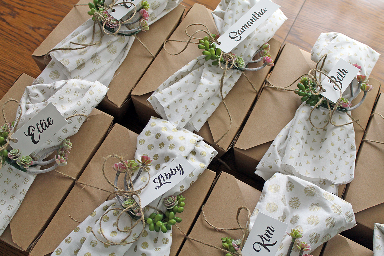 summer boxed lunches | polka dots and picket fences
