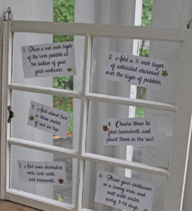 crafternoon | polka dots and picket fences