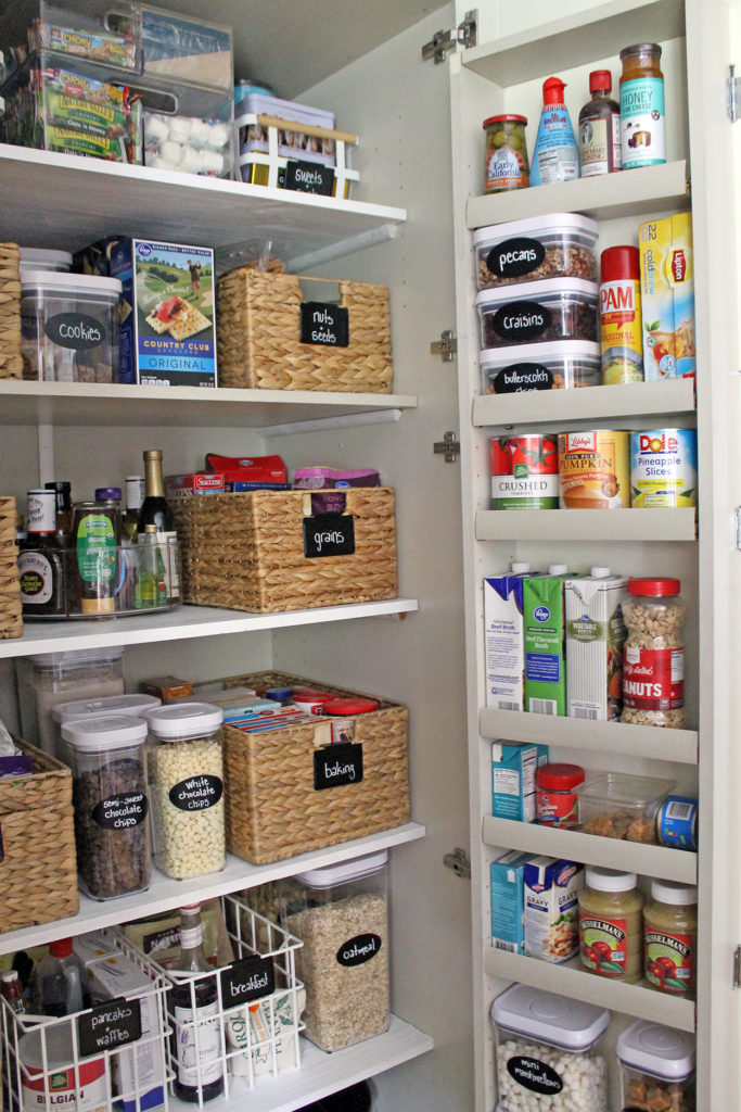"""my """"new"""" organized pantry 