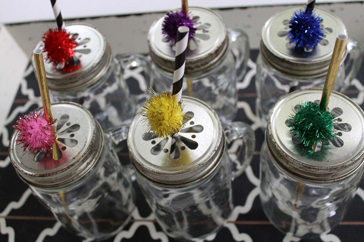Decorated Straws