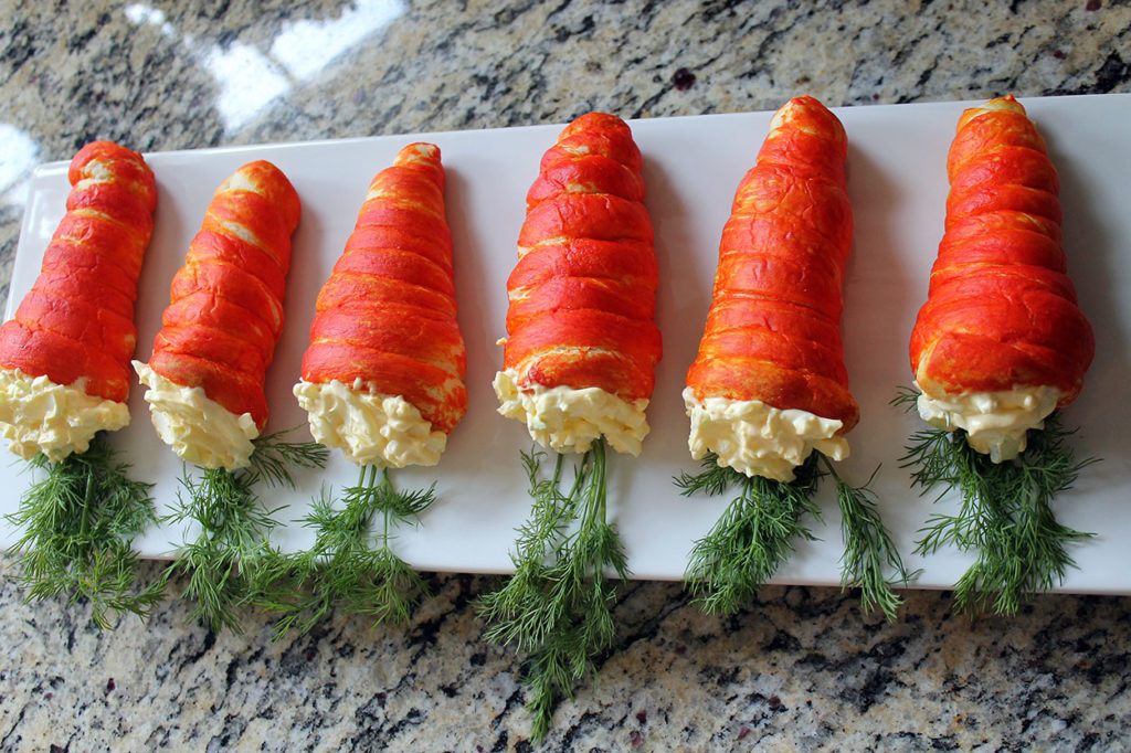carrot croissants | polka dots and picket fences