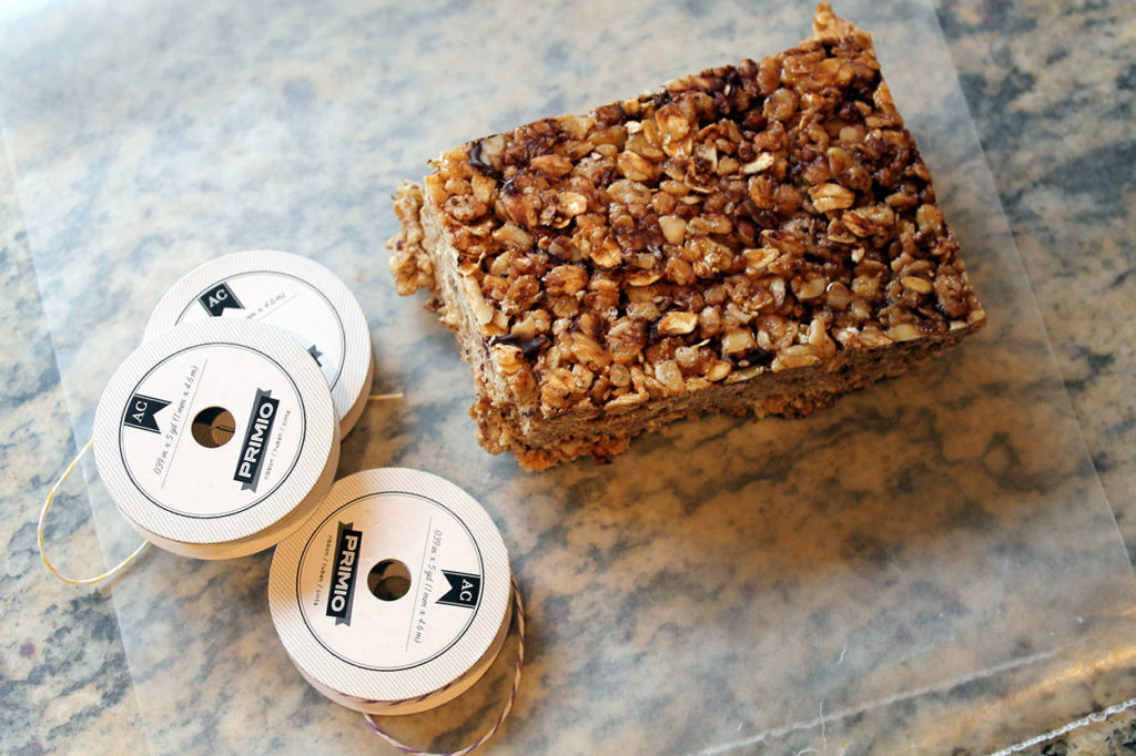gooey granola goodness | polka dots and picket fences