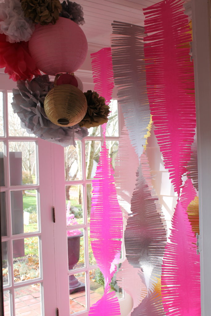 sparkle and shine party   polka dots and picket fences