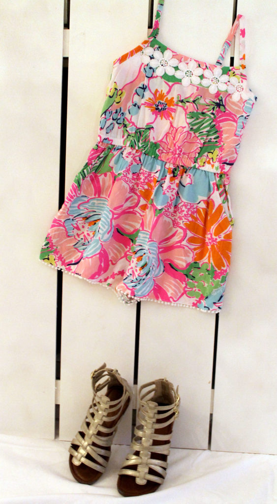 rockin' the romper trend | polka dots and picket fences