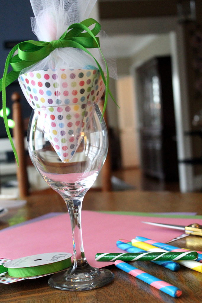 candy umbrellas | polka dots and picket fences