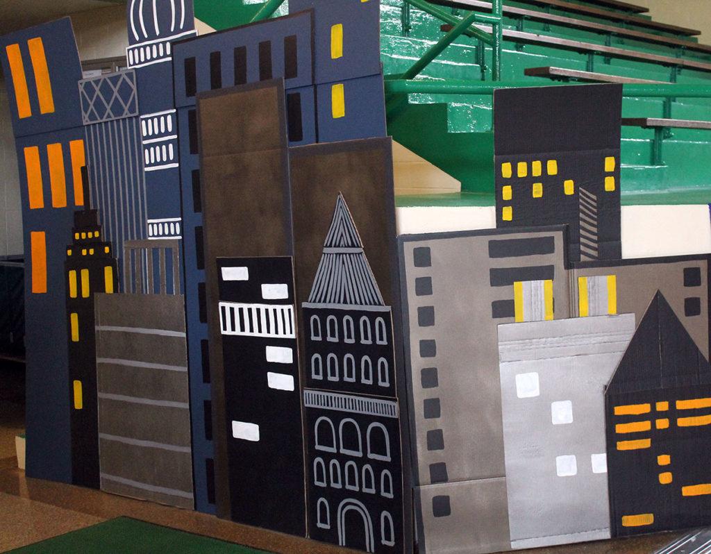 bright lights, big city   polka dots and picket fences