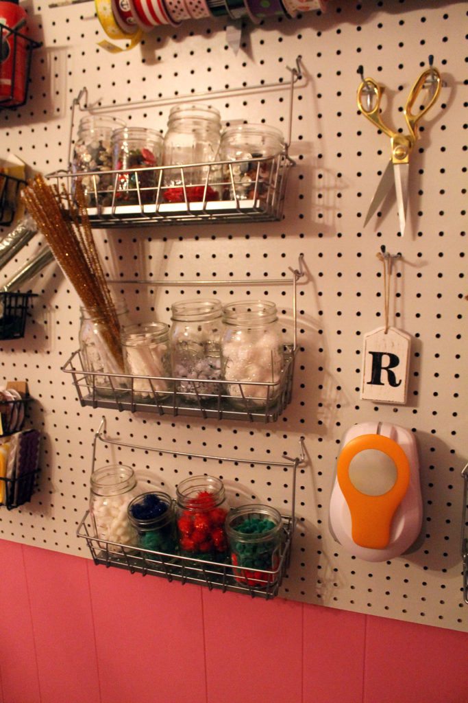 craft room | polka dots and picket fences