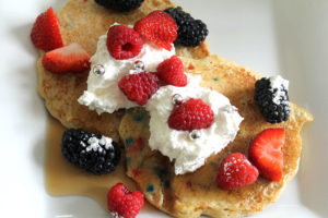 patriotic pancakes | polka dots and picket fences