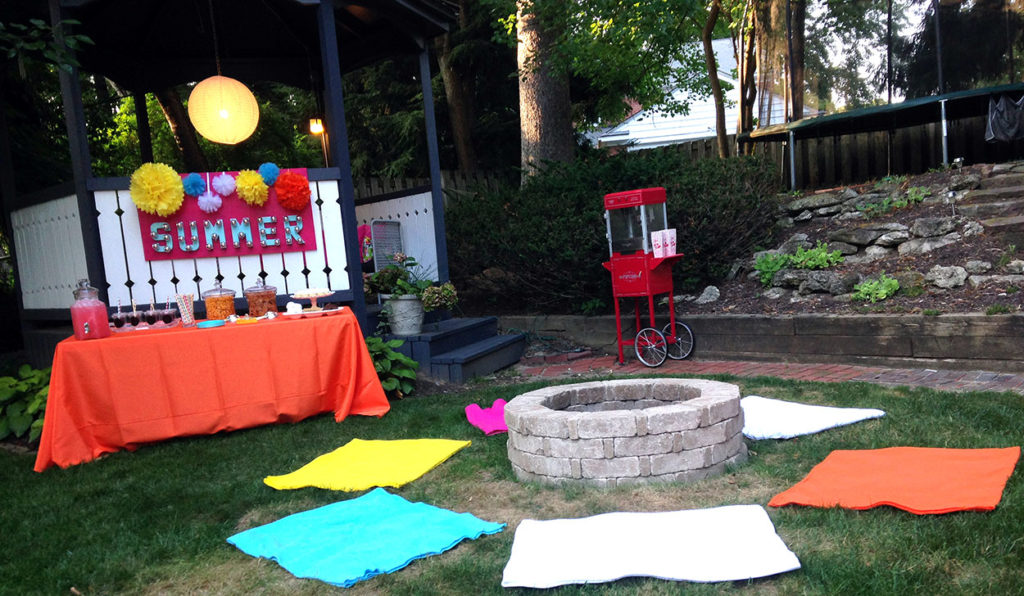 summer party | polka dots and picket fences