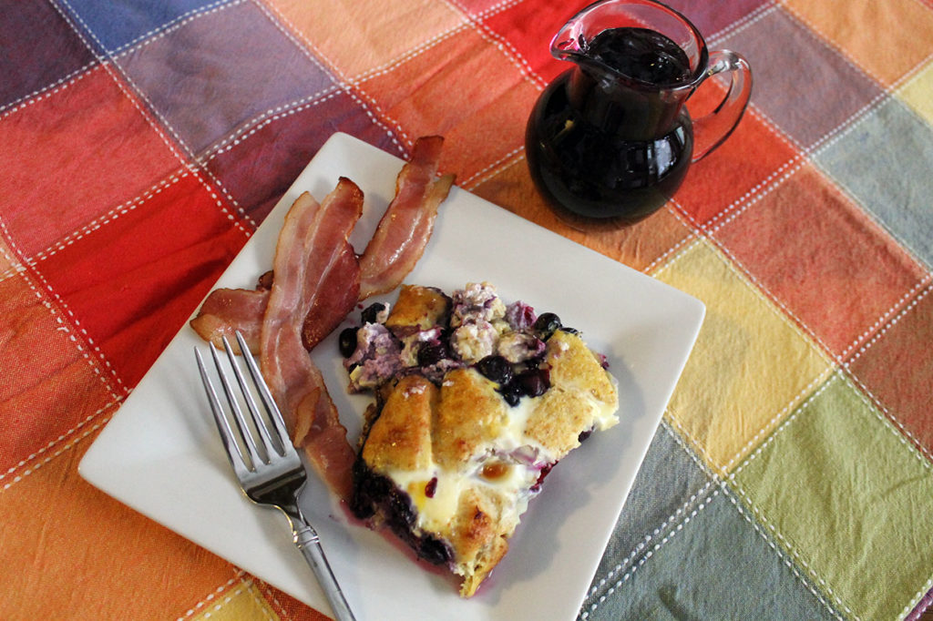 blueberry french toast | polka dots and picket fences