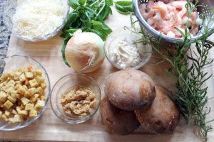 shrimp stuffed mushrooms   polka dots and picket fences