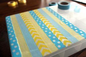 washi wednesday viii | polka dots and picket fences