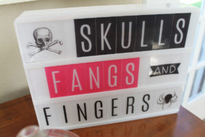 skulls, fangs, and fingers…oh my!
