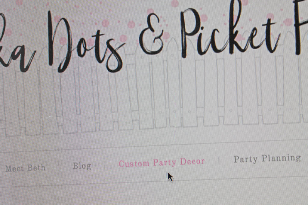 another year older | polka dots and picket fences