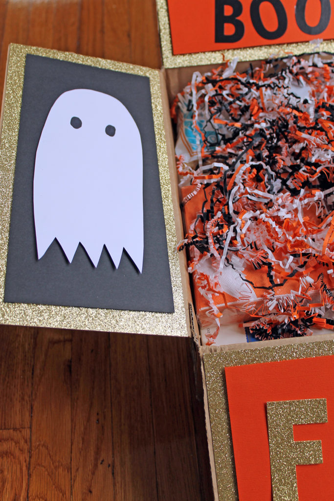 boo-tiful package | polka dots and picket fences