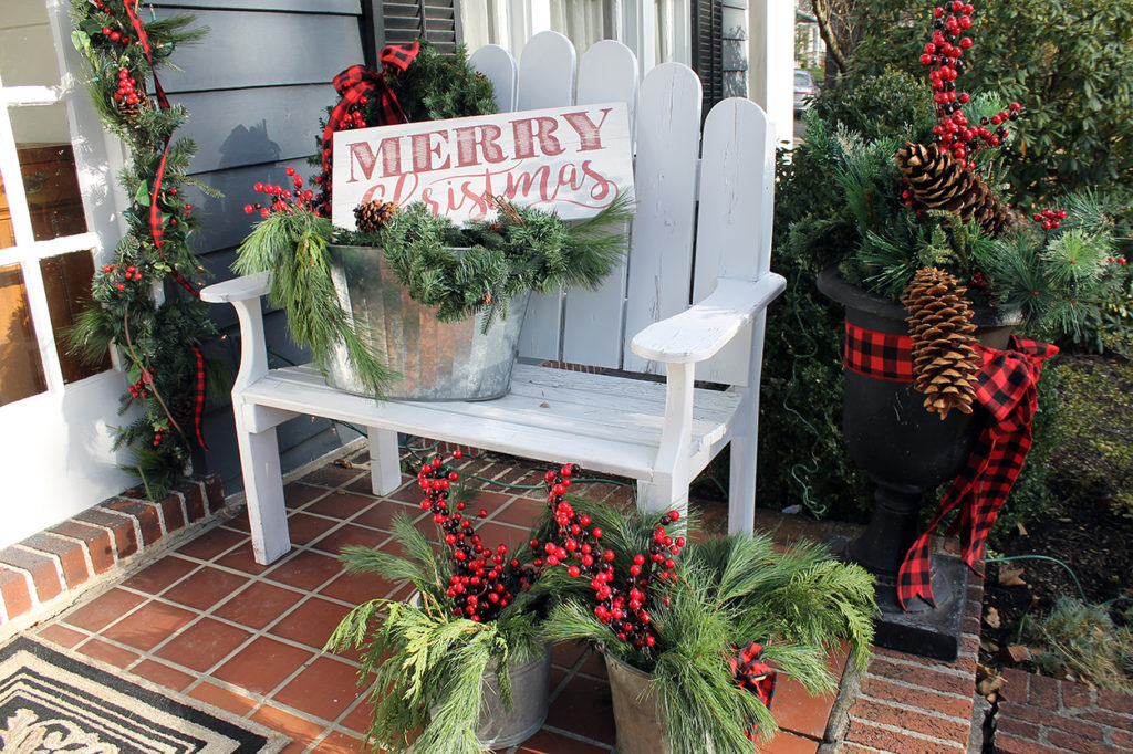 all decked out n buffalo plaid | polka dots and picket fences