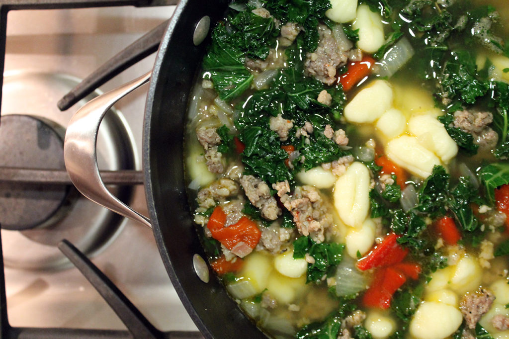 zuppa toscana soup | polka dots and picket fences