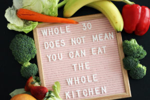 whole 30 | polka dots and picket fences