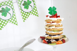 st. patrick's day breakfast | polka dots and picket fences