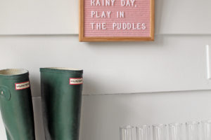 felt letter board | polka dots and picket fences