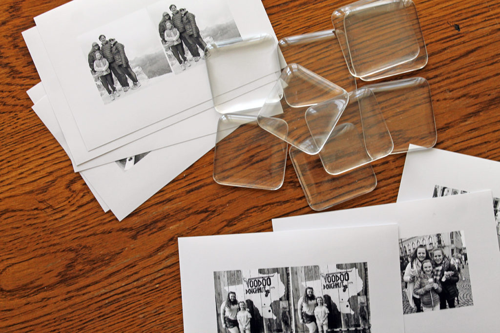 mother's day photo gifts | polka dots and picket fences