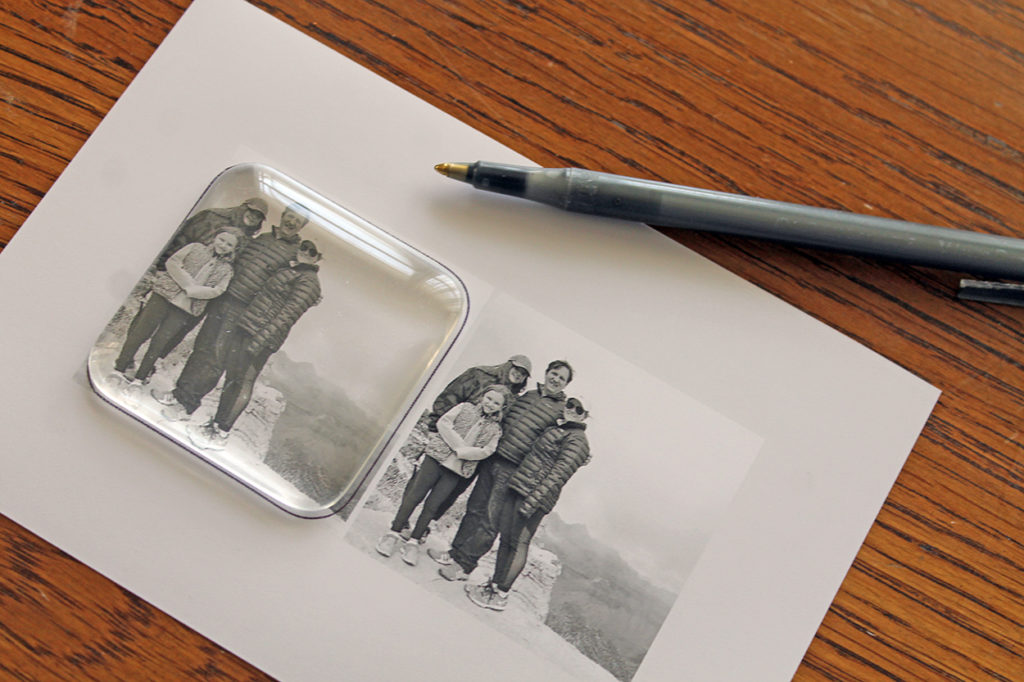 mother's day photo gifts   polka dots and picket fences
