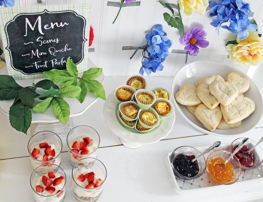momosa brunch | polka dots and picket fences