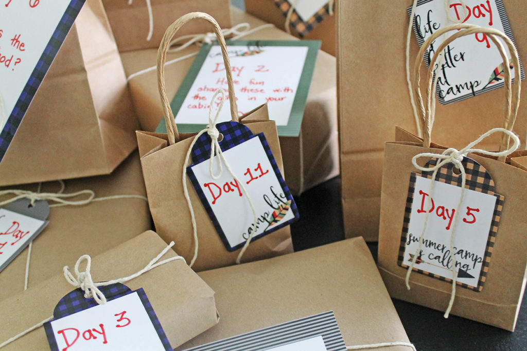 camp care packages | polka dots and picket fences