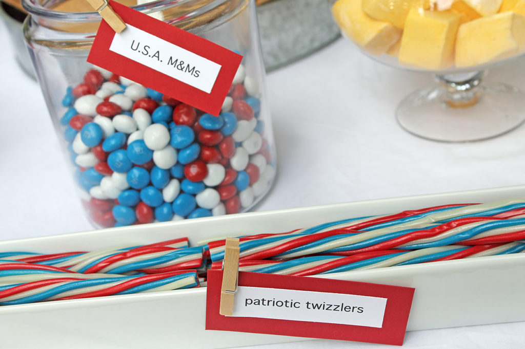 s'more fourth of july fun | polka dots and picket fences