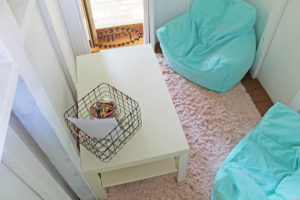 playset transformation | polka dots and picket fences