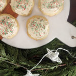 sour cream cookies | polka dots and picket fences
