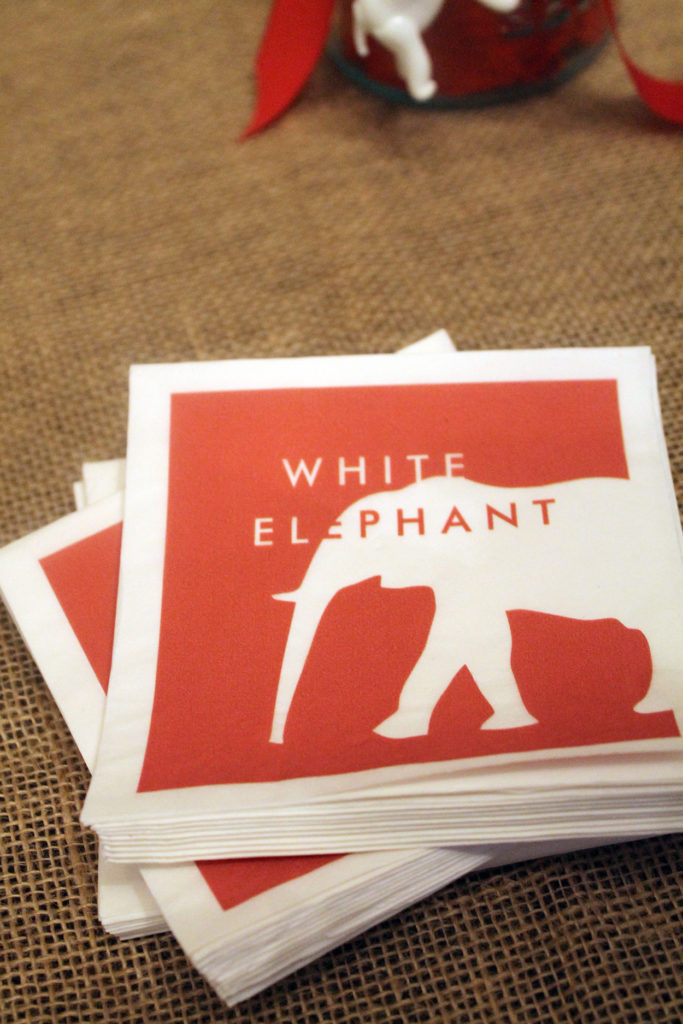 white elephant | polka dots and picket fences